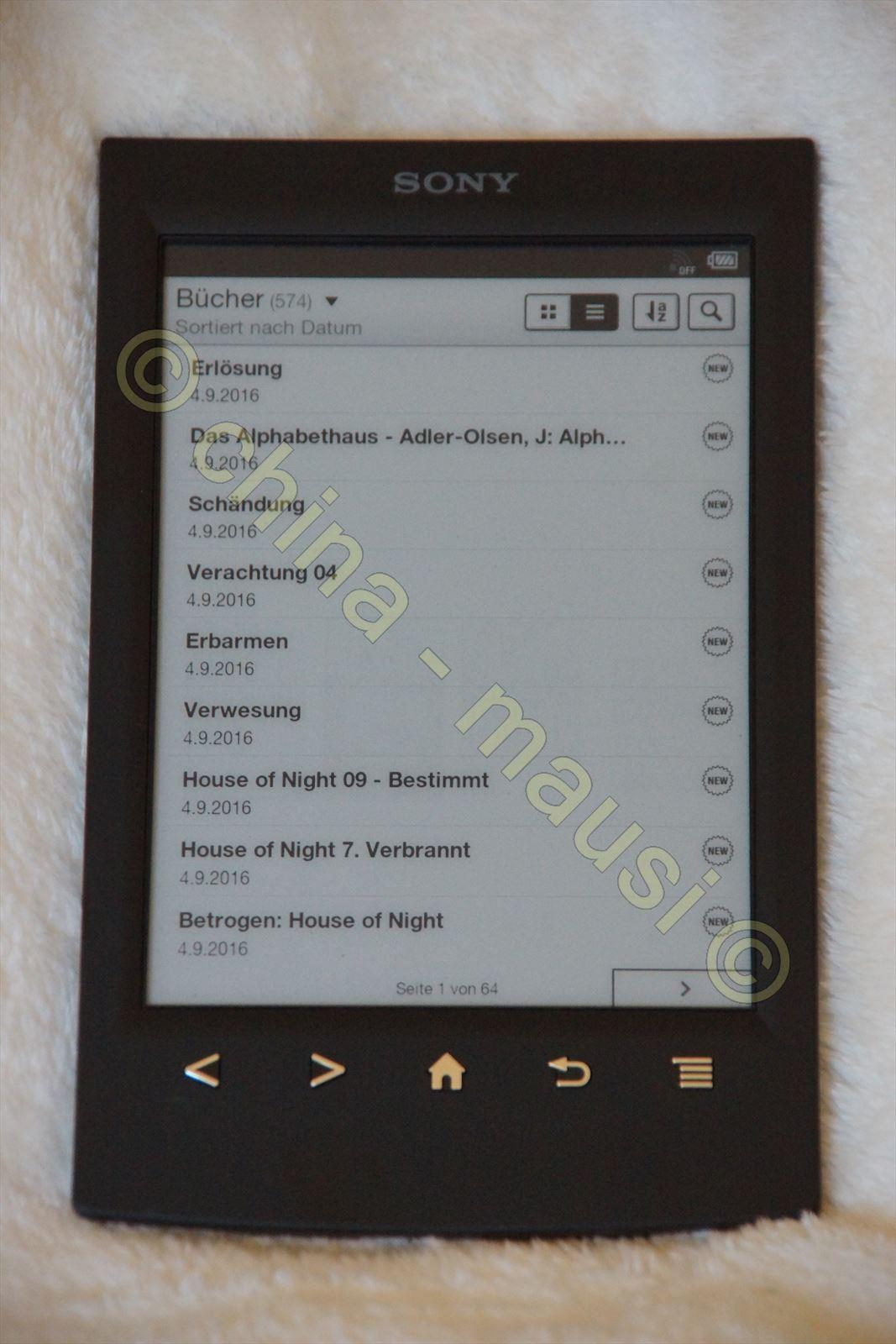 ebook reader der firma sony prs t2 in ovp 4905524861907 ebay. Black Bedroom Furniture Sets. Home Design Ideas